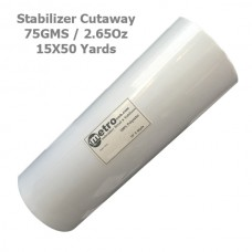 Cutaway (Soft) Stabilizer 15X50 yards Roll 75 Grams 2.65 oz.