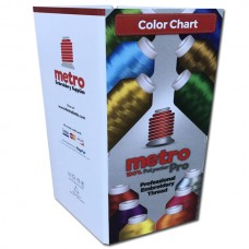 Metro Pro Color Chart