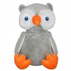 Owl - Fluffy Grey