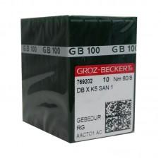 100 Groz-Beckert Titanium Needle 60/8 Ball Point