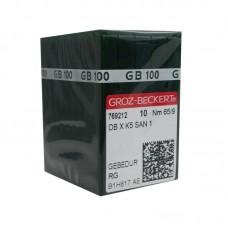 100 Groz-Beckert Titanium Needle 65/9 Ball Point