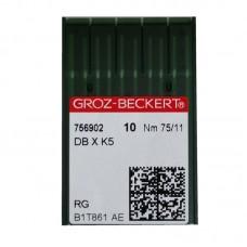 10 Groz-Beckert Chromium Needle 75/11 Ball Point