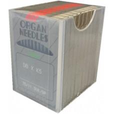 100 Organ Needles 75/11 Round Shank BALL POINT Chrome (004)