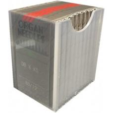 100 Organ Needles 80/12 Round Shank REGULAR POINT Chrome (005)