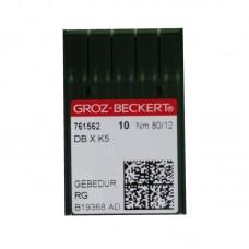 10 Groz-Beckert Titanium Needle 80/12 Ball Point