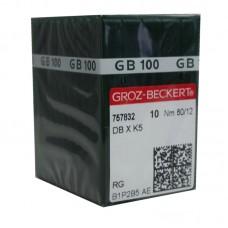 100 Groz-Beckert Chromium Needle 80/12 Ball Point (3C)