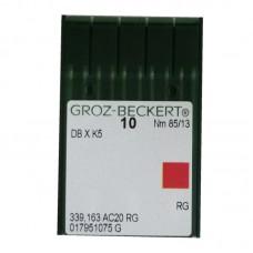 10 Groz-Beckert Chromium Needle 85/13 Ball Point