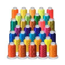 32 Vibrant Mini Spool (1000M) Package @ $0.80 each spool